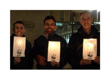 sacchetti luminosi portacandele stampati personalizzati