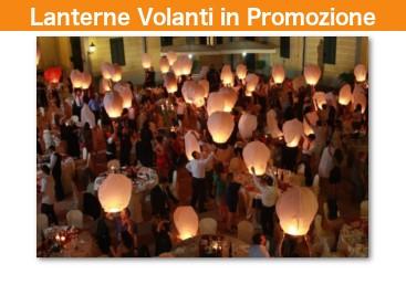 Lanterne Volanti Cinese Luminosei in Promozione