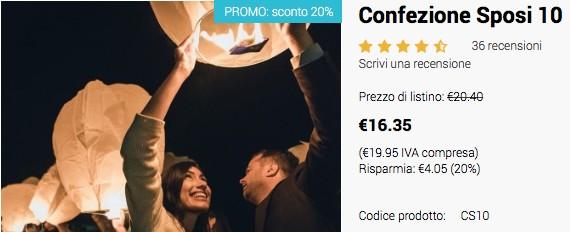 confezione lanterne volanti luminose in promozione