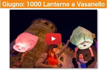 Lancio Vasanello 1000 lanterne volanti