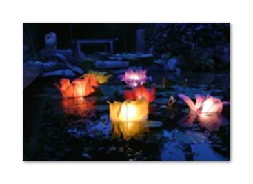 Lanterne Galleggianti per laghetto o per la piscina