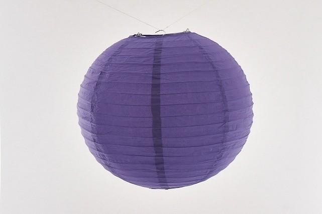 Lanterna di carta di riso da Appendere Viola 40