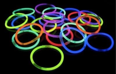 Braccialetti Luminosi 25 cm divertenti per ragazzi