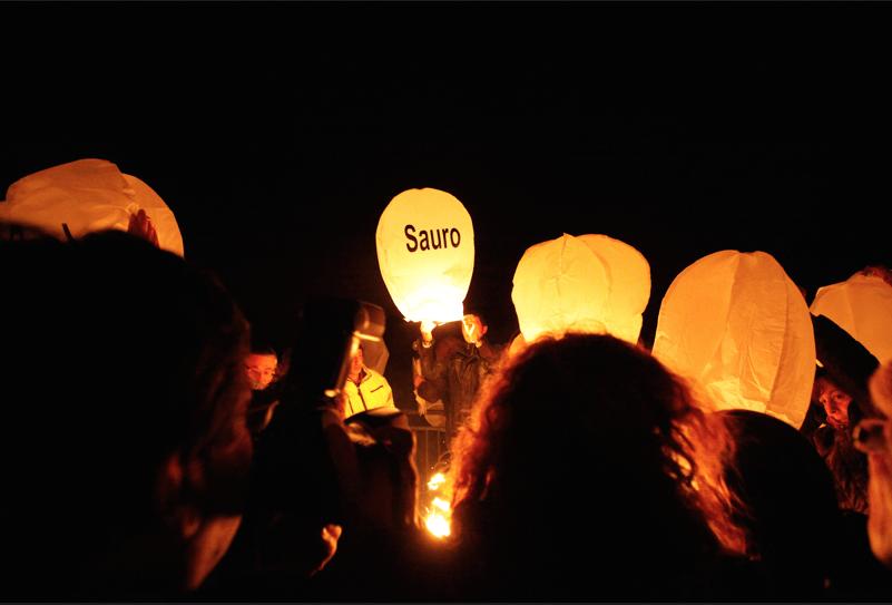 Lanterna Volante con dedica personale