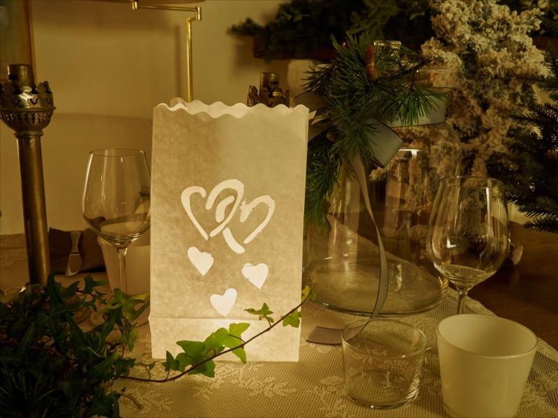 Sacchetto di carta con candele carta ignifugo Passione