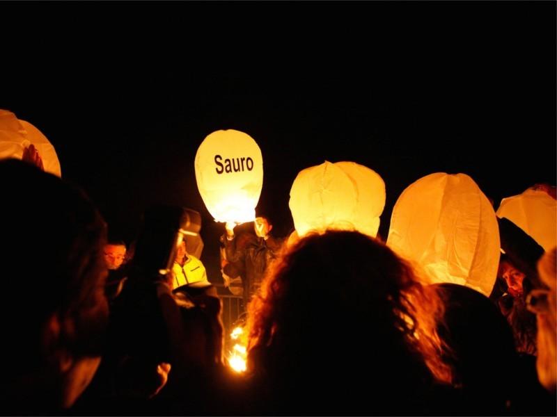 La lanterne volante personalizzata viene usato anche per