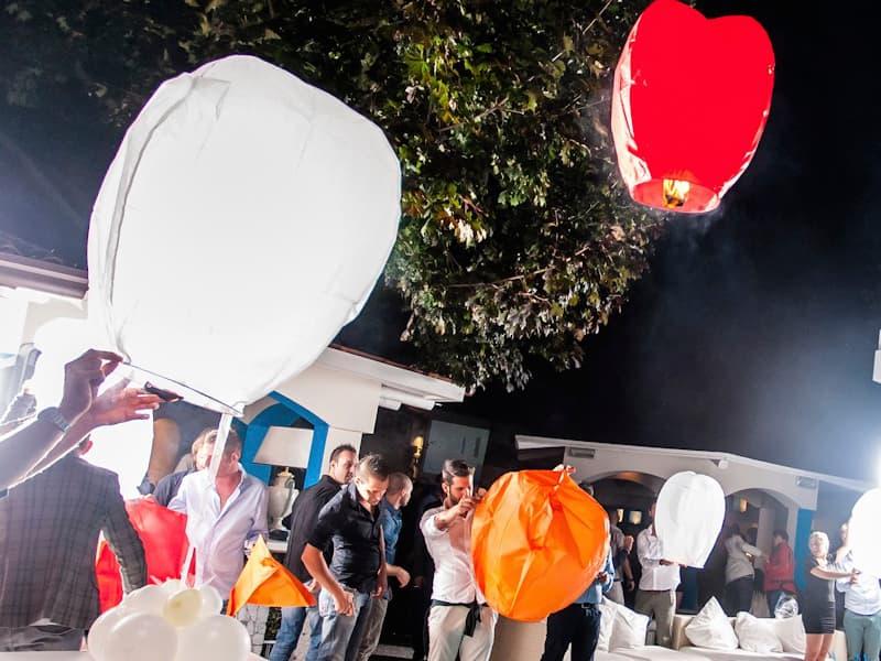 Lanterne Volanti Luminosi prezzo più basso, materiale certificato, biodegradabile e ignifuga