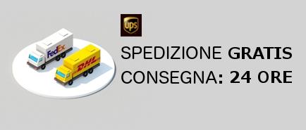 Spedizione Express con UPS DHL CRONO SDA BARDOLINI POSTEITALIANE