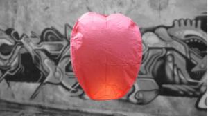 Lanterna Volante Professionale Rossa