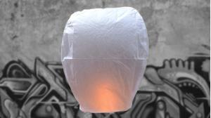 Lanterna Volante Professionale Bianca