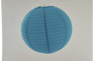 Lanterna di carta di riso da Appendere Blu 20 cm