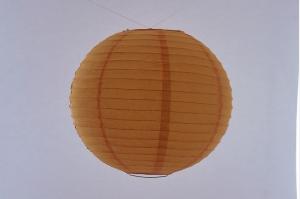 Lanterna di carta di riso da Appendere Arancione 20 cm