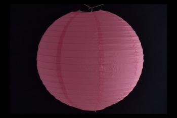 Lanterna di carta di riso da Appendere Rosa 20 cm