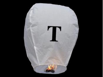 Lanterne volanti certificate e sicure con le lettere, scrivi un messaggio che vola nel cielo, pronto per l'uso, apri accendi e volano: la lanterna volante con la lettera