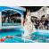 Ninfea -  Ninfea - Lanterne Galleggianti luminosi da mettere in piscina per un fashion show wedding matrimonio