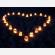 Sacchetti portacandele per scrivere un nome o un testo o disegnare un cuore o altro