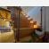 Sacchetti luminosi di carta messe per le scale