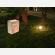 Sacchetti luminosi porta candele per illuminare il giardino