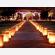 Sacchetti luminosi di carta per illuminare un percorso, sagra, festa