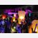 lanterne volanti, colori vivaci, piccole, pronto per l'uso, combustibile montato, per un evento fatto in sicurezza