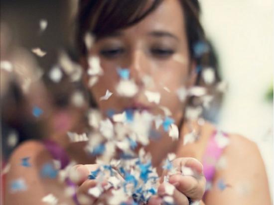 Confeti Shooter Butterflies