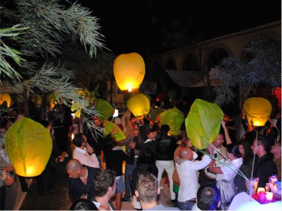 Lanterne Volanti Gialle
