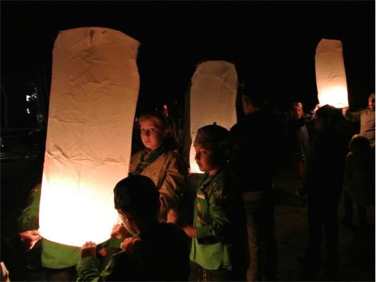 le lanterne volanti possono essere usati anche per altri eventi come anniversari, feste del paese, festa della parrocchia o pro loco, anche per una sagra o una fiaccolata
