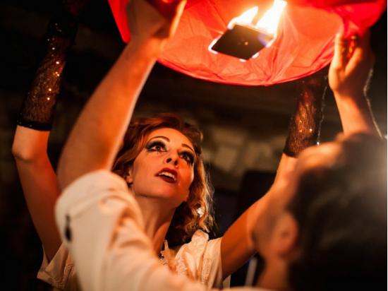 Le lanterne volanti sono anche belle per la festa del papa o la festa della mamma, una cresima o un battesimo.