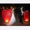 Lanterna Volante rossa grande a forma di cuore: Le nostre lanterne volanti pronte per l'uso, facile da usare, per un anniversario, un matrimonio, una laurea o qualsiasi altra festa, certificata, ignifuga e biodegradabile